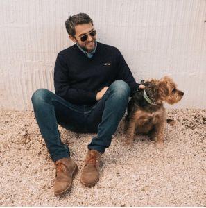Màxim Huerta en Instagram con su perra doña Leo
