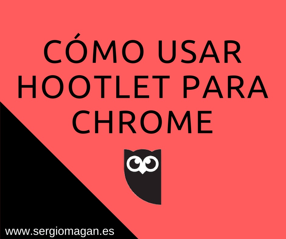 Extension Chrome de Hootlet
