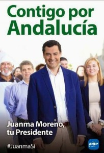 Cartel-juanma-moreno-elecciones-andalucia-2015