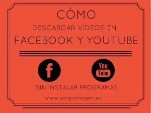 Tutorial para descargar videos en youtube y facebook