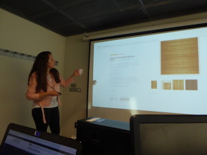Laura Torres del Blob madeintrend.es hablando sobre moda y redes sociales