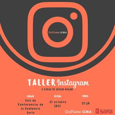 Taller Instagram Soria Onphoto Soria
