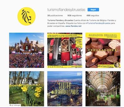 Instagram flandes en españa