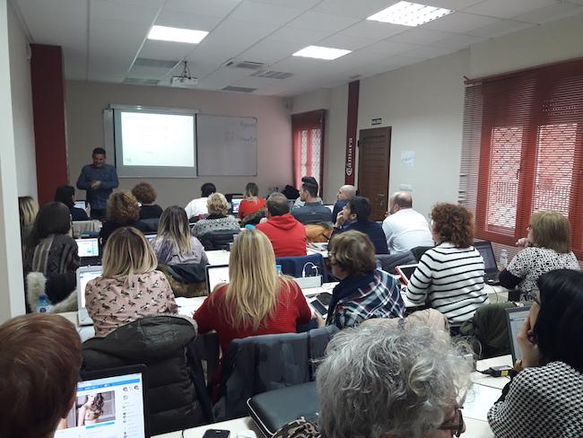 Curso redes sociales Cámara comercio Teruel