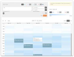 planificador de contenido para redes sociales con Metricool
