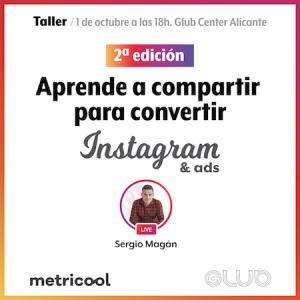 Curso de Instagram Alicante Glub Center